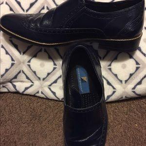 Men's Navy Blue Dress Shoes